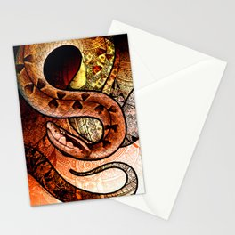 Malayan Pit Viper Stationery Cards