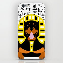 GOD DOG iPhone Skin