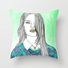 Stay Real Throw Pillow