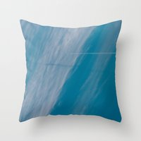 plane Throw Pillows featuring Plane by HMS James