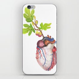 Fig Heart iPhone Skin
