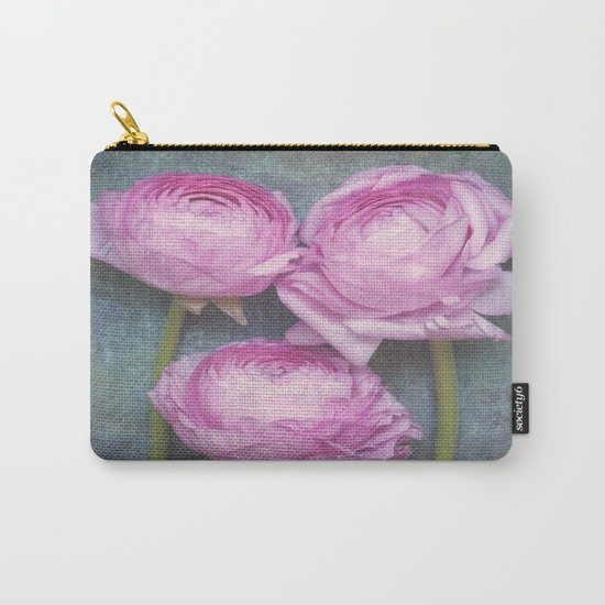 Beautiful Ranunculus Carry-All Pouch