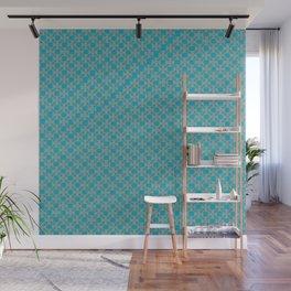 Blue Tile Wall Mural