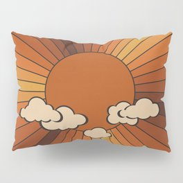 Retro Sunshine Pillow Sham