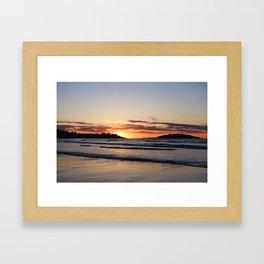 Good Harbor Beach at Sunrise Gloucester MA Framed Art Print