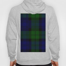 Scottish Campbell Tartan Pattern-Black Watch #2 Hoody