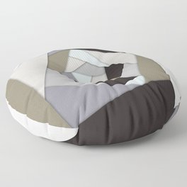 Rotating Geometric Layers Floor Pillow