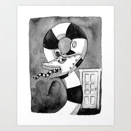 Betelgeuse. Art Print