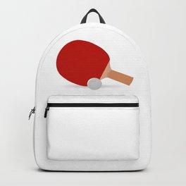 Ping-Pong Racket & Ball Backpack