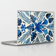 Tropical Symmetry – Navy Laptop & iPad Skin