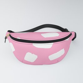 Candyfloss Brushstrokes Fanny Pack