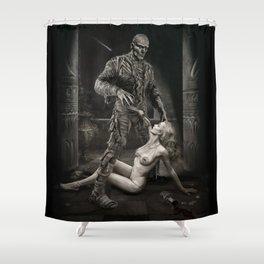 The Mummy Shower Curtain