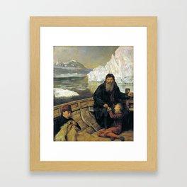 John Collier - The Last Voyage of Henry Hudson Framed Art Print