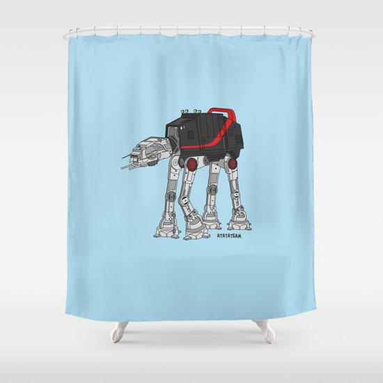 ATATATEAM Shower Curtain