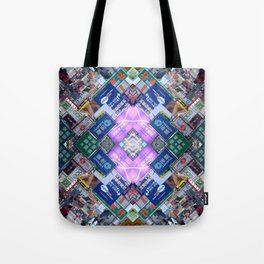 Hong Kong Kaleidoscope 03 Tote Bag
