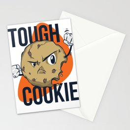 Tough Cookie Cartoon Stationery Cards
