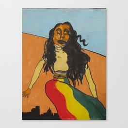 Ruby Over Savannah Canvas Print