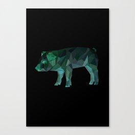 Animal Slang - Pig Canvas Print