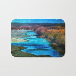 Monet's Rio Las Cruces New Mexico Bath Mat