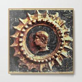 Emblema dell'Imperatore I (Emperor Emblem I) Metal Print