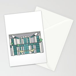 Chancellery in Berlin Stationery Cards