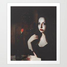Promises Portrait Art Print