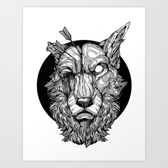 Migraine  Art Print