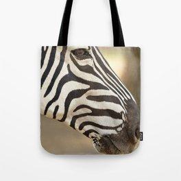 Common zebra (Equus quagga) Tote Bag