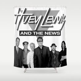 HUEY LEWIS AND THE NEWS WORLD TOUR DATES 2019 IJAD Shower Curtain