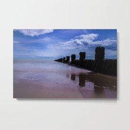 A Calming Seascape Metal Print