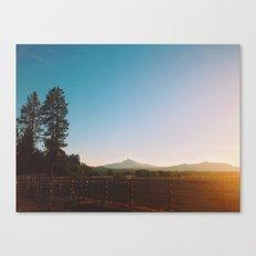 Black Butte Canvas Print