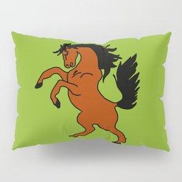 The Fierce Mustang Pillow Sham