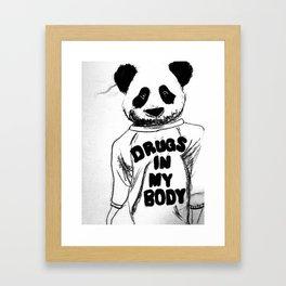 Panda's Gone Wild Framed Art Print