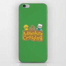 Adventure Crossing iPhone & iPod Skin