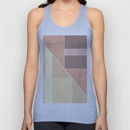 Simple geometric pattern. 2 Unisex Tank Top