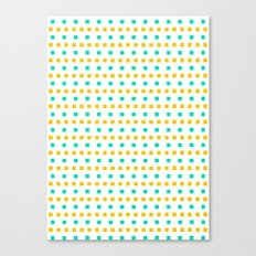 Small sunny squares Canvas Print