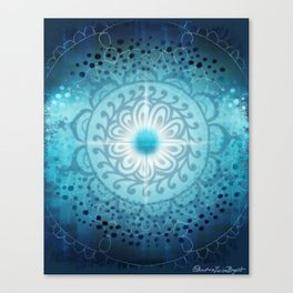 Vishudda - Chakra 5 Canvas Print