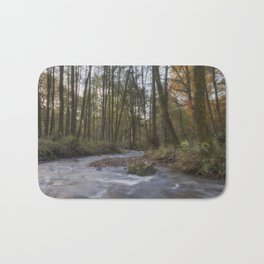 Winter along the Brook Bath Mat
