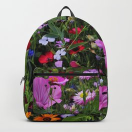Meadow,wild flowers valley  Backpack