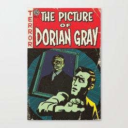 Oscar Wilde's Dorian Gray: Vintage Comic Cover Canvas Print
