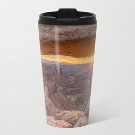 Sunrise at Mesa Arch Travel Mug