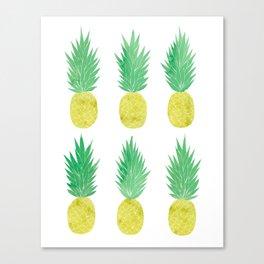 Pineapple Mood Canvas Print