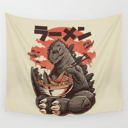 Kaiju's Ramen Wall Tapestry