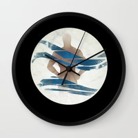 pixies Wall Clocks featuring Wave of Mutilation by Ryan W. Bradley