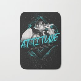Notorious BIG Motivationl Art and Quote Bath Mat