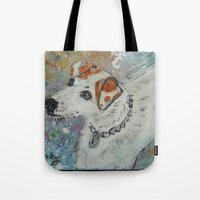 virginia Tote Bags featuring Virginia by gretzky