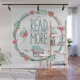 Read More Floral Wreath Wall Mural