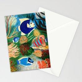 Magnificent sight sea world | Vue magnifique des bas fonds Stationery Cards