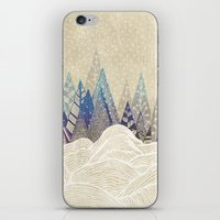 dreams iPhone & iPod Skins featuring Snowy Dreams  by rskinner1122