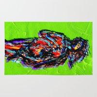 venus Area & Throw Rugs featuring Venus by Alec Goss